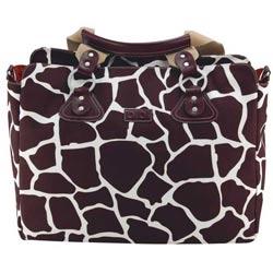 Oi Oi Baby Bags Giraffe Tote Diaper Bag