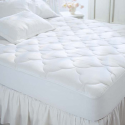 Restful Nights Egyptian Cotton Twin Size Mattress Pad
