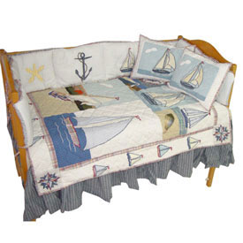 Patch Magic Group Nautical Crib Sheet