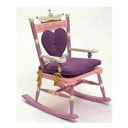 Levels Of Discovery Royal Princess Rocking Chair