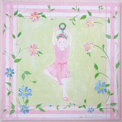 Ballerina On One Leg Plaque