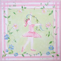 Dancing Ballerina Plaque