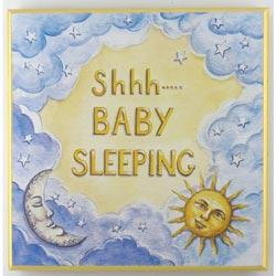 Baby's Sleeping Plaque