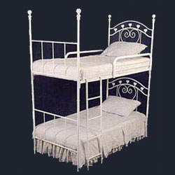 Corsican Sweetheart Iron Bunk Bed