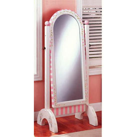 Teamson Bouquet Collection Standing Mirror