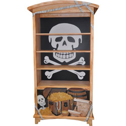 Pirate's Cove Bookcase