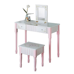Teamson Vanity Table and Stool
