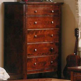Natart Theo Five Drawer Dresser