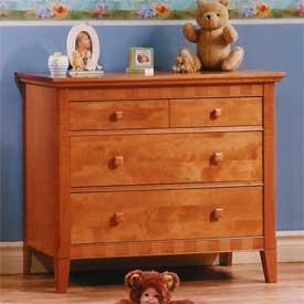 Natart Theo Three Drawer Dresser/Changer