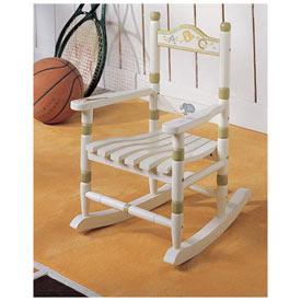 Alphabet Toddler's Rocking Chair