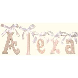 Alexa Glitter Wall Letters