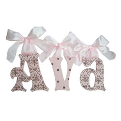 Ava Wall Letters