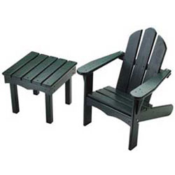 Little Colorado Childs Adirondack Chair and End Table