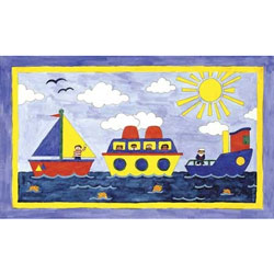 Art4Kids/Creative Images Big Boatin' Wall Art