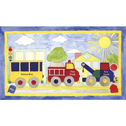 Art4Kids/Creative Images Big Drivin' Wall Art
