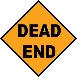 Art4Kids/Creative Images Dead End Road Sign Wall Art