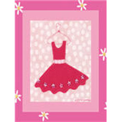 Art4Kids/Creative Images Little Pink Dress III Wall Art