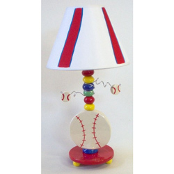 Baseball Ceramic Lamp