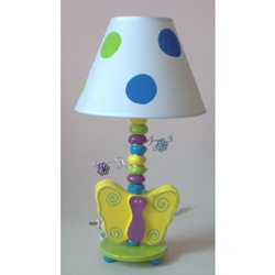 Butterfly Ceramic Lamp