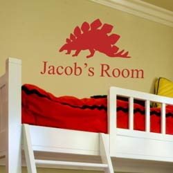 Alphabet Garden Designs Jacob's Room Wall Decal