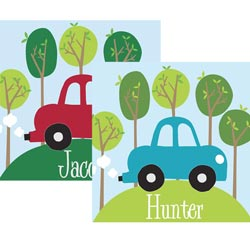 Alphabet Garden Designs Personalized Road Trip Canvas Art