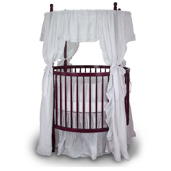 Angel Line Traditional Round Crib