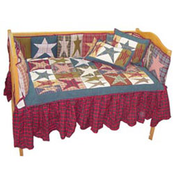 Patch Magic Group Allstar Crib Bedding