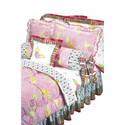 Amanda Ruffled Pillow Sham