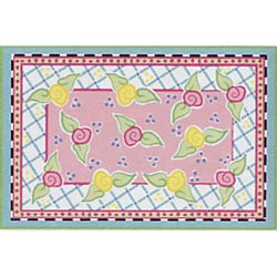 California Kids Amanda Sculpted Nylon Rug