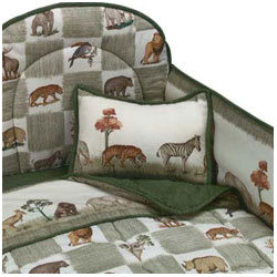 Animal Kingdom Cradle Bedding
