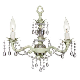 Maura Daniel Antique Chandelier