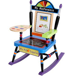 Levels Of Discovery Child's Artist's Rocker