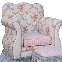 Blossoms and Bows Empire Chair