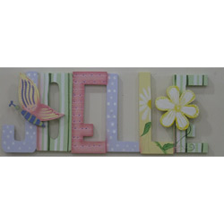 Joelle Spring Time Wall Letters