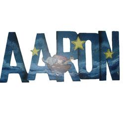 Noah's Ark Pop Up Wall Letters