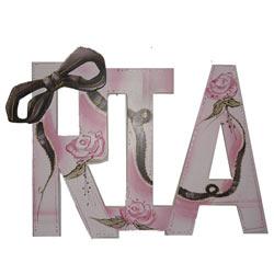 Ria Ribbon Wall Letters
