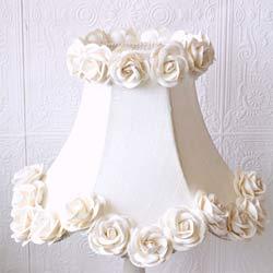 Silk and Roses Lamp Shade