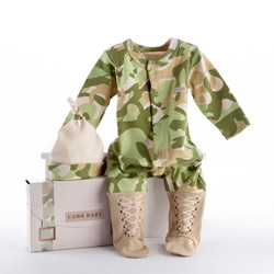 Kate Aspen Baby Camo 2 Piece Layette Set