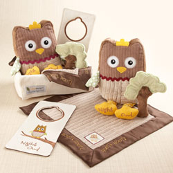 Kate Aspen My Little Night Owl 5 Piece Baby Gift Set