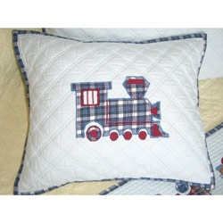 Wheels Quilted Cushion