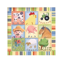 Barnyard Buddies I Wall Art
