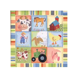 Barnyard Buddies II Wall Art