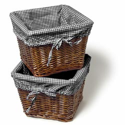 Amelia Cherry Willow Basket Set