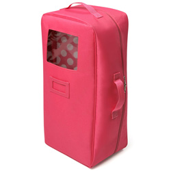 Doll Travel Case with Bed and Bedding