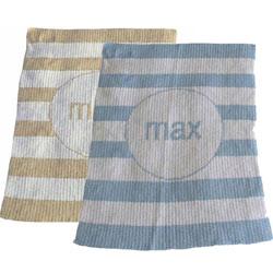 Modern Stripe Stroller Blanket
