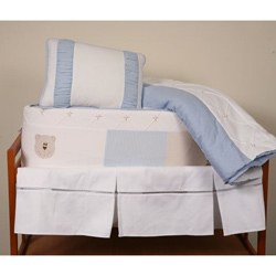 Blue Bear Crib Bedding