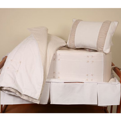 Cream Dream Crib Bedding