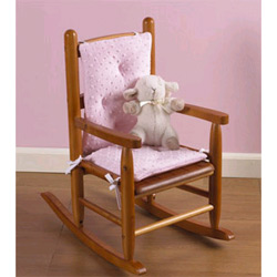 Baby Doll Heavenly Soft Child's Rocking Chair Cushion