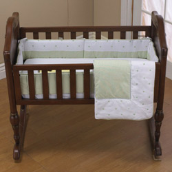 Baby Doll Heaven Sent Cradle Bedding