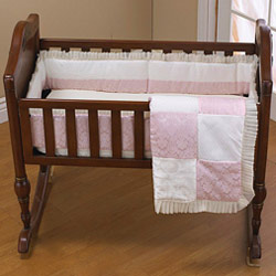 Baby King and Queen Porta Crib Bedding